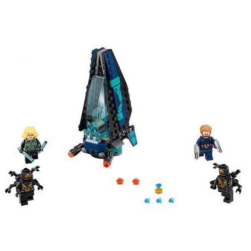 Lego SUPER HEROES Atak statku outriderów outrider dropship attack 76101