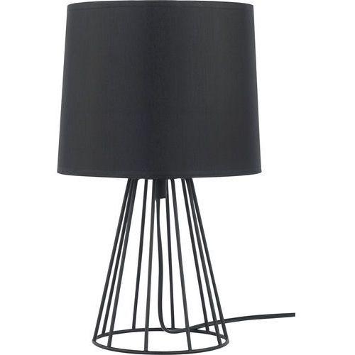 Tklighting Lampka nocna stołowa druciana tk lighting sweet 1x60w e27 czarna 2884