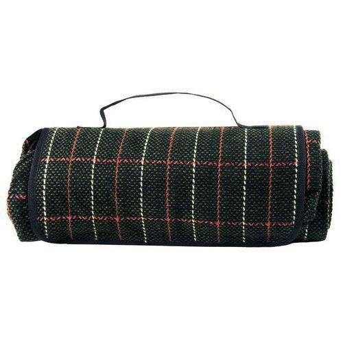 pled koc piknikowy w kratkę marki Highlander