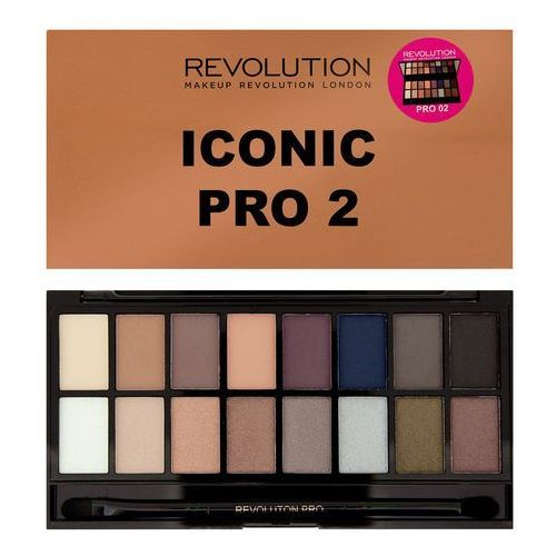 Makeup Revolution Salvation Palette Iconic Pro 2 - paleta cieni do powiek