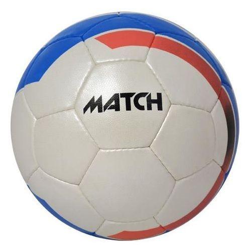 Piłka nożna match - biało-niebieski - biało-niebieski marki Axer sport