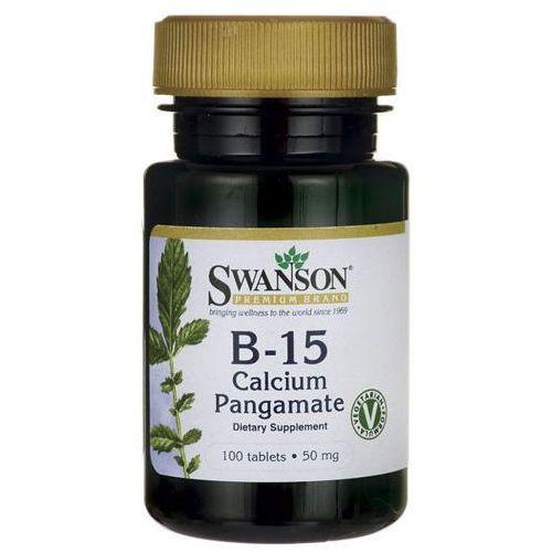 Tabletki SWANSON B-15 Calcium Pangamate 50mg x 100 tabletek