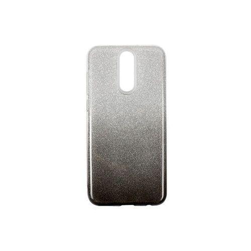 Huawei Mate 10 Lite - etui na telefon Forcell Shining - czarne ombre, kolor czarny