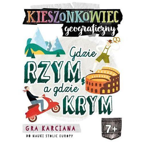 Edgard Kieszonkowiec geograficzny: gdzie rzym, a gdzie krym? - (9788377888094)