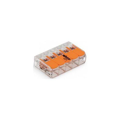 Szybkozłączka klik 5x 0,5-6mm2 /15szt/, 221-615