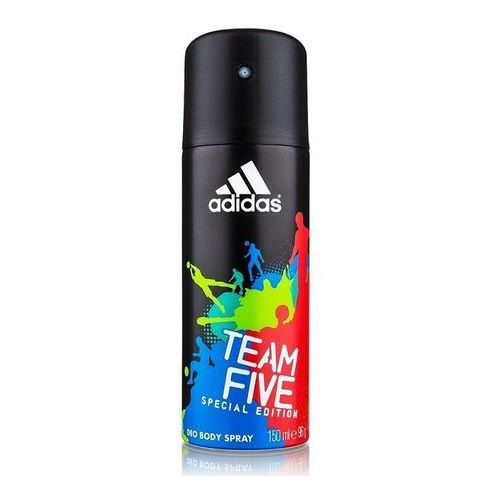Adidas team five men, 150 ml. dezodorant spray - adidas (3607346550922)