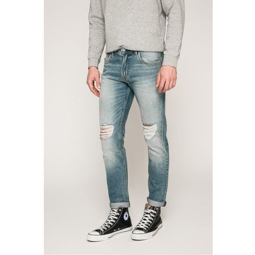 - jeansy medium blue, Produkt by jack & jones