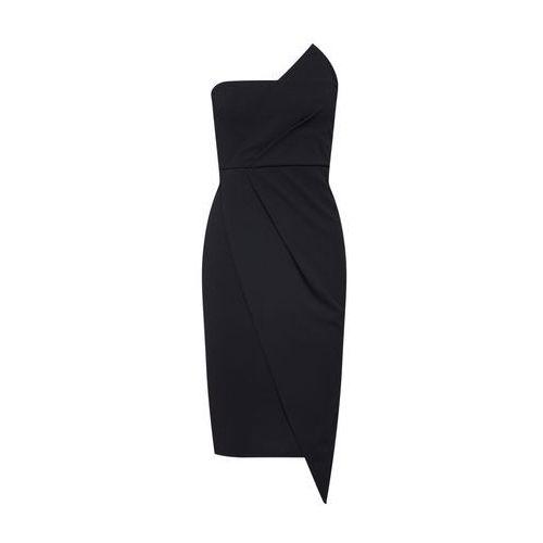 Missguided Sukienka koktajlowa czarny (5057702758192)