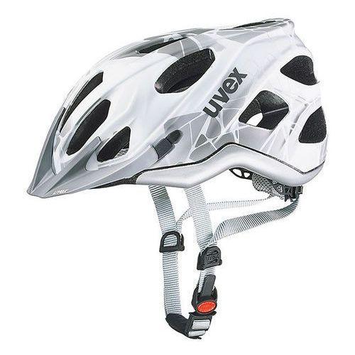 Kask rowerowy Uvex Adige CC - white mat