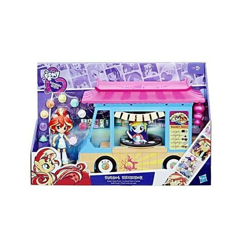 My little pony eg mini zestaw sushi truck sunset shimmer - marki Hasbro