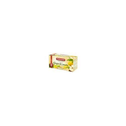 Teekanne 20x1,75g green tea ginger lemon herbata zielona (5901086002658)