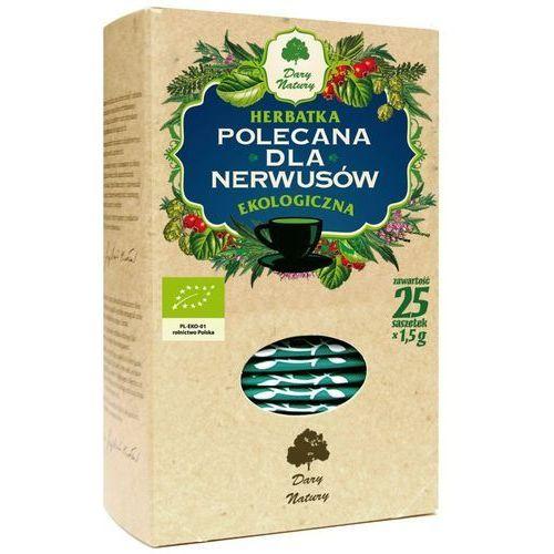 Dary natury - herbatki bio Herbatka dla nerwusów bio (25 x 1,5 g) herbata dary natury (5902741005328)