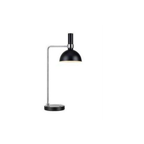 Markslojd Lampa lampka oprawa stołowa larry 1x60w e27 czarny/chrom 106859 >>> rabatujemy do 20% każde zamówienie!!! (7330024567290)