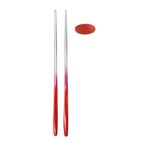 Pałeczki do sushi z podstawką My Fusion 2 komplety czerwone