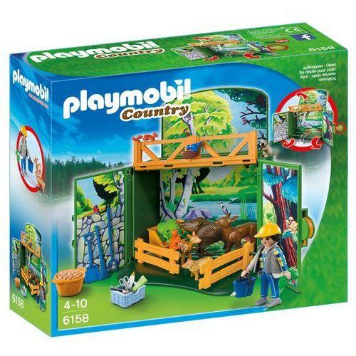 Playmobil COUNTRY Składany zestaw dokarmiania leśnych zwierząt 6158