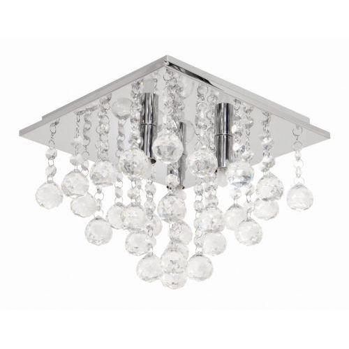 Lampa sufitowa kryształowa clarion 3xe14/40w/230v marki Helam