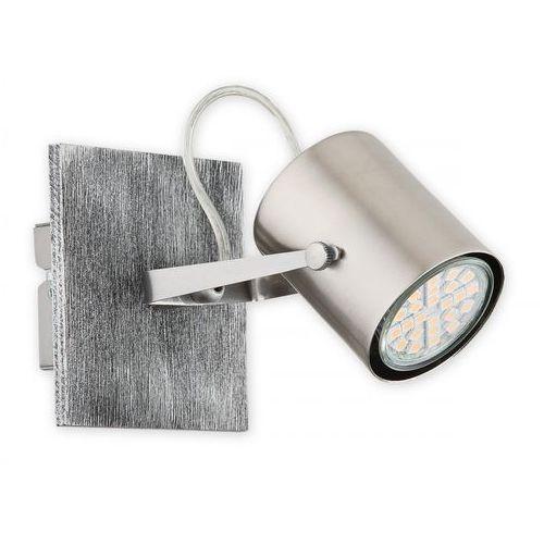 alan o2420 k1 mare kinkiet lampa ścienna 1x10w gu10 nikiel / satyna marki Lemir