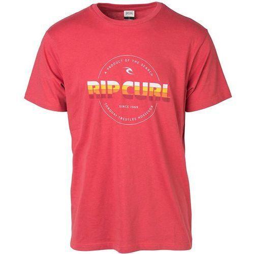 Rip curl Koszulka - bigmama circle tee mineral red (8878) rozmiar: l