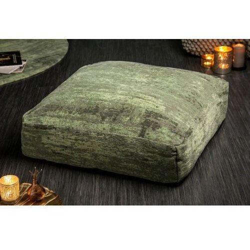 Invicta poduszka podłogowa modern art - 70 cm zielona, bawełna, poliester marki Sofa.pl