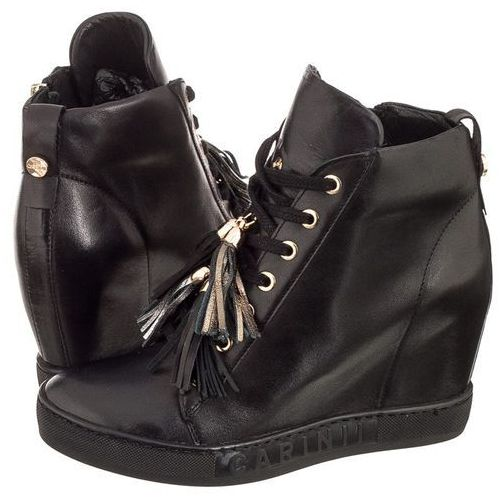 Sneakersy Carinii Czarne B4401 (CI283-a), kolor czarny