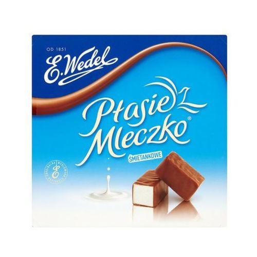 380g ptasie mleczko śmietankowe w mocno mlecznej czekoladzie marki E. wedel