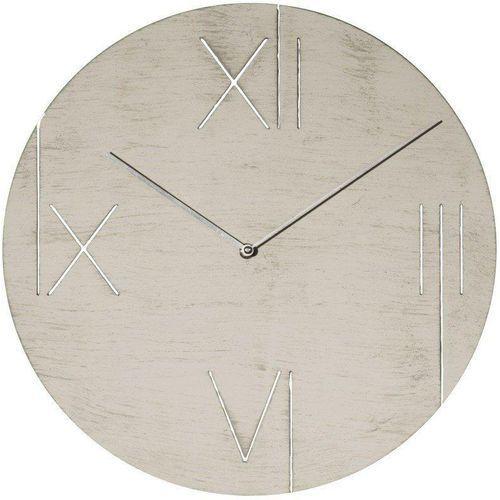 Nextime Zegar ścienny z podświetlaną tarczą galileo biały