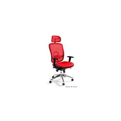 Krzesło biurowe Vip czerwone