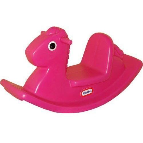 Little tikes Koń na biegunach - różowy