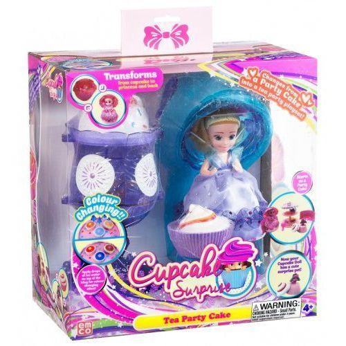 Tm-toys Cupcake babeczka laleczka deser lodowy fioletowy