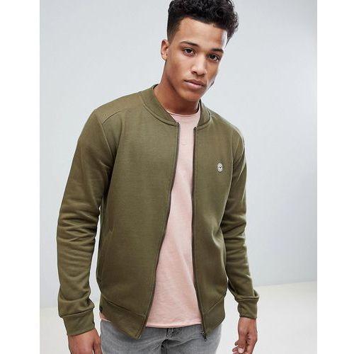 Le Breve Zip Bomber Sweatshirt - Green, w 5 rozmiarach