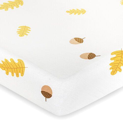 4Home jersey prześcieradło Jesień, 160 x 200 cm, biały, 160 x 200 cm (8596175016196)