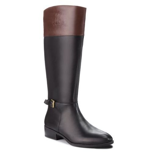 Oficerki LAUREN RALPH LAUREN - Madisen 802712326003 Black/Dark Brown, 36-39
