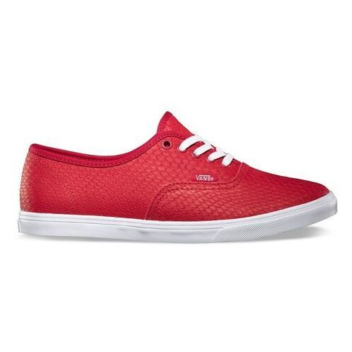 Buty - authentic lo pro (embossed snake) chili pepper (8ku), Vans