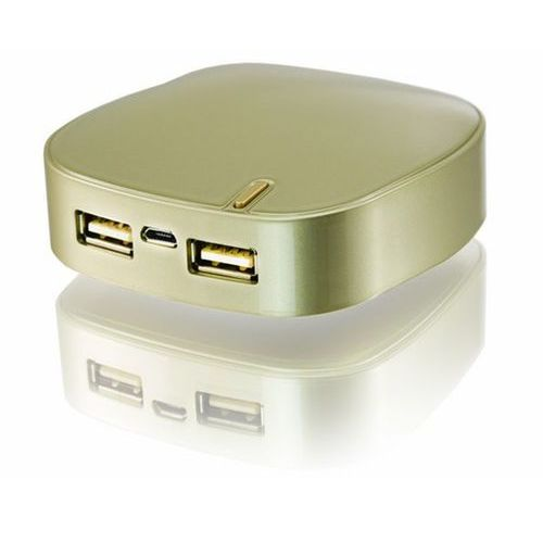 Nonstop powerbank ekko złoty 5200mah samsung - 5200mah samsung \ złoty marki Aab cooling