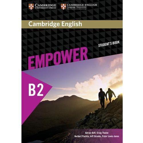 Cambridge English Empower Upper Intermediate Students Book, oprawa miękka