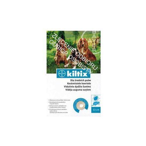 Bayer kiltix obroża średnia 53cm + drontal 2 tab - 1 tab na 35kg