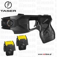 Paralizator strzelający na odległość  x26p - najnowsza wersja zestaw z baterią tppm + 2 kartridże 4,6m marki Taser