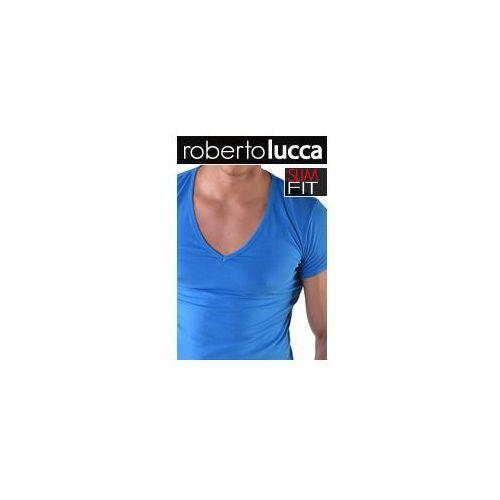 V koszulka slim fit 70223 00133, Roberto lucca