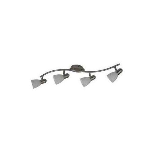 Listwa lampa sufitowa oprawa spot Rabalux Harmony lux 4x40W E14 satyna / biały 6638 (5998250366388)