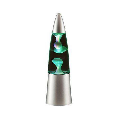 Lampka biurkowa na baterie Rabalux Tilly 1x0,2W RGB LED srebrny 4537 (5998250345376)