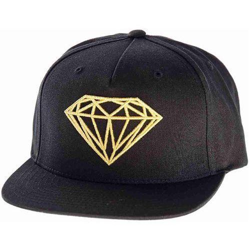 Czapka z daszkiem - brilliant smu black/gold (bkgd) marki Diamond