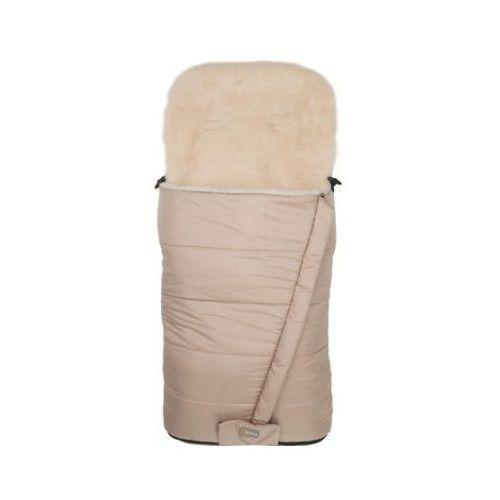 śpiworek zimowy do wózka naga wool, kolor naturalny marki Fillikid