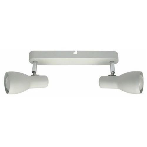 Listwa oprawa lampa sufitowa Candellux Picardo 2x40W E14 biały mat 92-44181 (5906714844181)