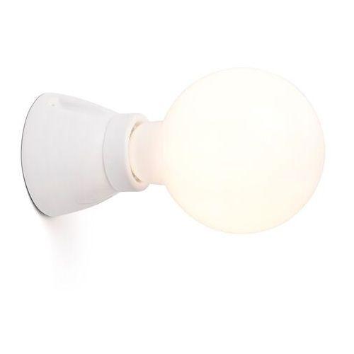 Lampa ścienna Kera, biała (8421776168688)