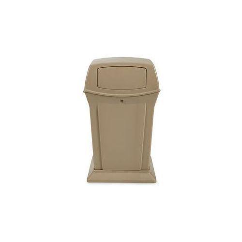 Pojemnik na odpady (PE), ogniotrwały,poj. 170 l, szer. x wys. x głęb. 632 x 1054 x 632 mm