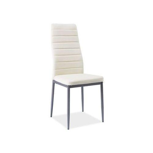 Krzesło H-261 Bis Alu Kremowy