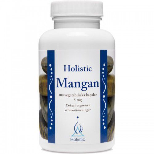 Holistic Mangan L-asparaginian manganu cytrynian manganu 5mg 100kaps. (7350012330699)
