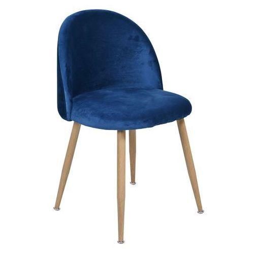 Krzesło Jazz Granatowe - Aksamit