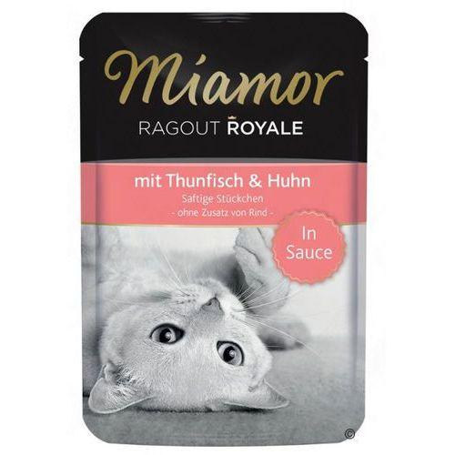 Miamor Ragout Royale Tuńczyk i kurczak 100g