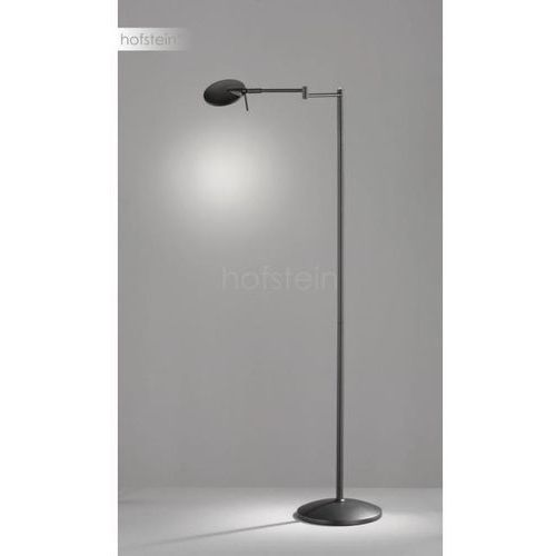 Trio kazan 474790132 lampa stojąca podłogowa 1x8w led czarna/biała (4017807390094)